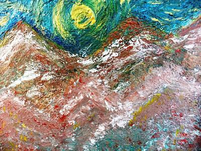 Moon Dream Print by Amy Drago