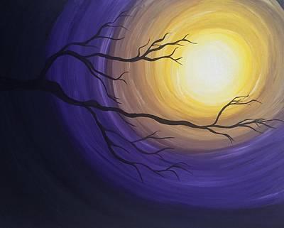 Moonlight Print by Kate R