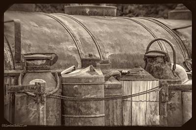 Barrel Photograph - Moonlight Moonshine 2 by LeeAnn McLaneGoetz McLaneGoetzStudioLLCcom