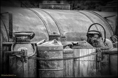 Copper Photograph - Moonlight Moonshine 4 by LeeAnn McLaneGoetz McLaneGoetzStudioLLCcom