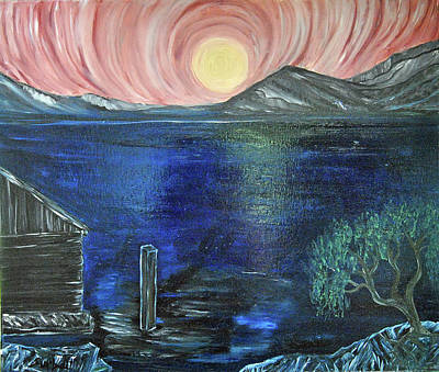 Painting - Moonlight  by Suzanne Surber