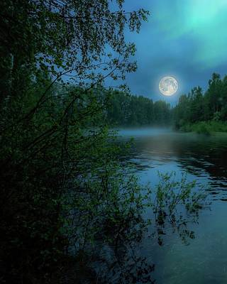 Photograph - Moonlit by Rose-Marie Karlsen
