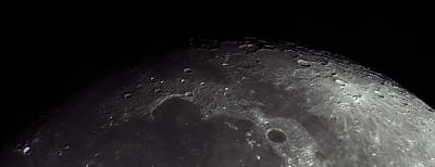 Moonscape Print by Manuel Huss