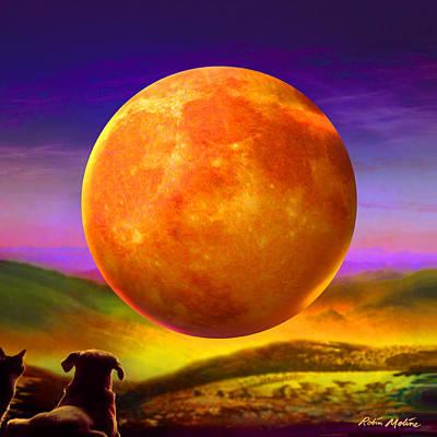 Moonshine Forever Print by Robin Moline