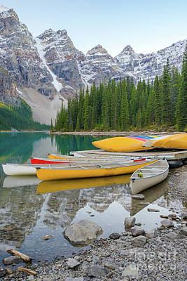Photograph - Moraine Lake by Christy Woodrow