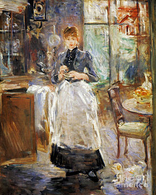 Impressionist Photograph - Morisot: Dining Room, 1886 by Granger