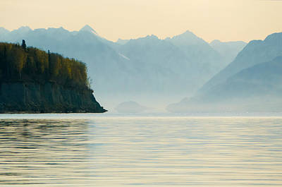 Landscape Photograph - Morning At Knik Alaska by Ron Day