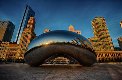 Reflection Photograph - Morning Bean by Sebastian Musial