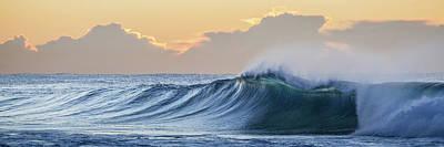 Australian Photograph - Morning Breaks by Az Jackson