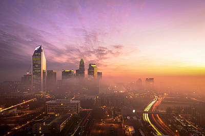 Charlotte Photograph - Morning Charlotte Rush Hour by Serge Skiba
