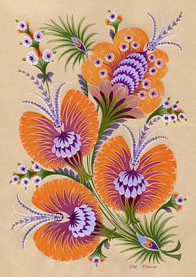 Morning Colors Print by Olena Skytsiuk