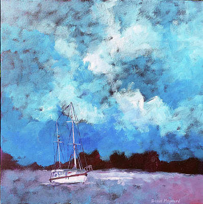Painting - Morning Fog by David Maynard