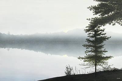 Morning Fog Original by Kenneth M  Kirsch