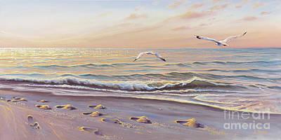 Morning Glisten Print by Joe Mandrick
