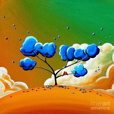 Dreams Painting - Morning Glory by Cindy Thornton