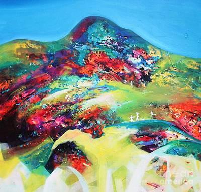 Painting - Morning Glory by Sanjay Punekar