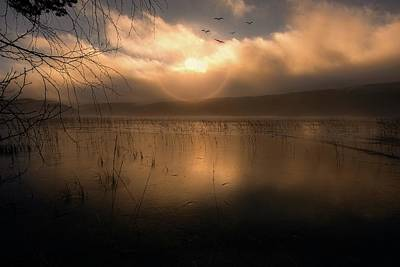 Landscape In Norway Photograph - Morning Has Broken by Rose-Marie Karlsen
