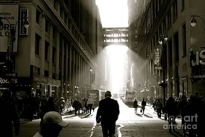 Morning In Manhattan Print by Jerry Patterson
