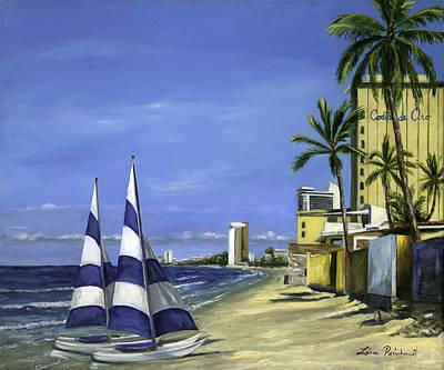 Mazatlan Painting - Morning In Mazatlan by Lisa Reinhardt