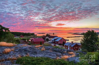 Finland Photograph - Morning In The Archipelago Sea by Veikko Suikkanen