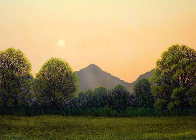 Pacific Crest Trail Painting - Morning Light by Frank Wilson