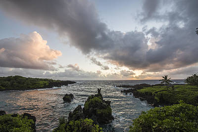 Horizontal Photograph - Morning Maui Colors by Jon Glaser