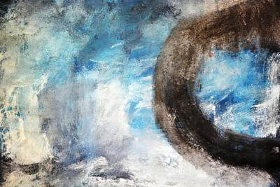 Abstract Painting - Morning Mist I by Andrada Anghel
