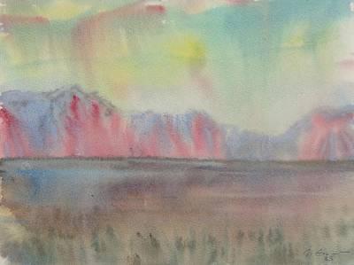 Morning. Mongolia Original by Ivan Filichev