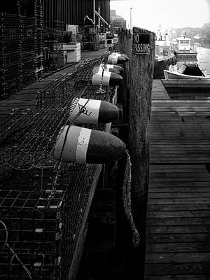 Photograph - Morning On The Docks by Bob Orsillo