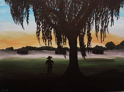 Pi Painting - Morning On The Rifle Range by Danya Ozmore