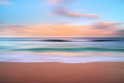 Morning Pastels Print by Sean Davey