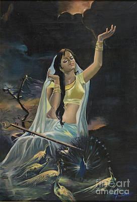 Painting - Morning Raga by Sweta Prasad