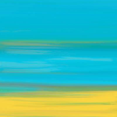 Bath Room Painting - Morning Sea by Frank Tschakert