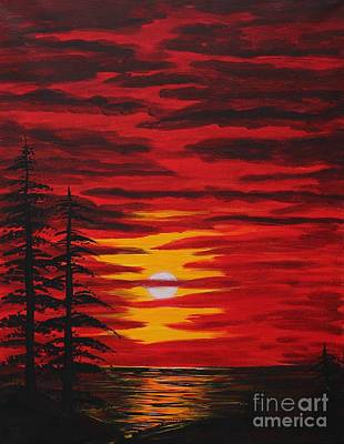 Painting - Morning Sky by Barbara Griffin