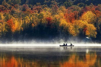 Adirondacks Photograph - Morning Sunrise by Magda Bognar