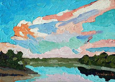 Morning Thunderstorm Original by Phil Chadwick