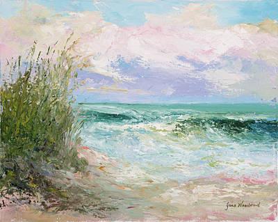 Morning Tide Print by Jane Woodward