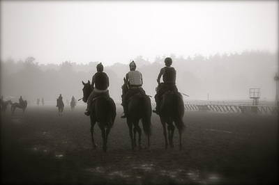 Morning Workout Saratoga Ny Print by Amanda Lonergan