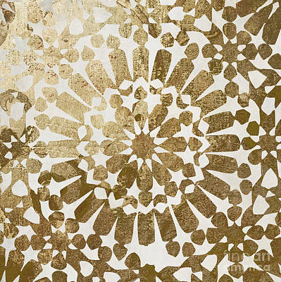 Ethnic Art Painting - Moroccan Gold II by Mindy Sommers