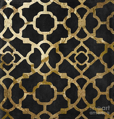 Moroccan Gold IIi Print by Mindy Sommers