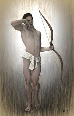 Morpheus Myth Print by Quim Abella