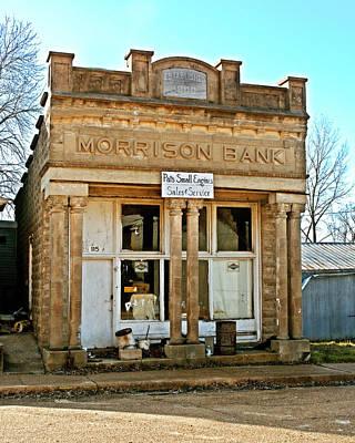 Photograph - Morrison Bank by Marty Koch