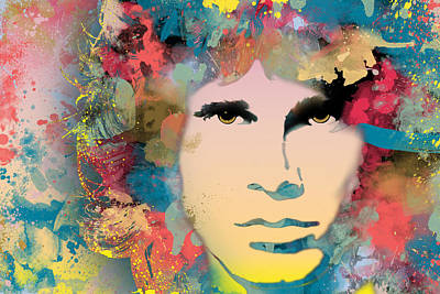 Music Digital Art - Morrison by Ryan Burton
