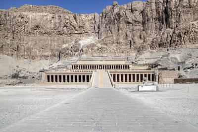 Hathor Photograph - Mortuary Temple Of Hatshepsut - Egypt by Joana Kruse