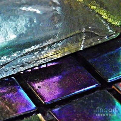 Iridescent Glass Photograph - Mosaic 11 by Sarah Loft