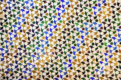 Mosaico Photograph - Mosaic II by Juan Carlos Ballesteros