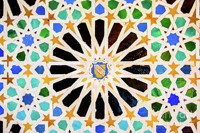 Mosaico Photograph - Mosaic IIi by Juan Carlos Ballesteros