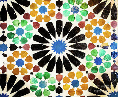Mosaico Photograph - Mosaic Iv by Juan Carlos Ballesteros