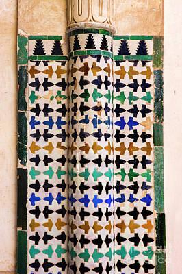 Mosaico Photograph - Mosaic Vii by Juan Carlos Ballesteros