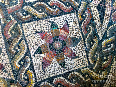 Mosaico Photograph - Mosaico Pavimentiale by Joseph Yarbrough
